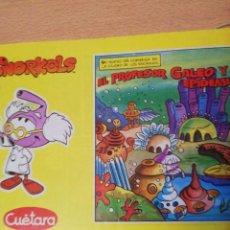 Cómics: SNORKELS. 1. EL PROFESOR GALEO Y LA EPIDEMIA. Lote 191588077