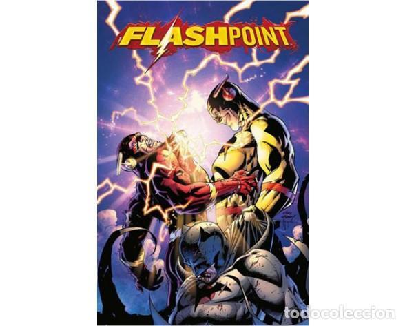 FLASHPOINT 4 - ECC / DC EDICIÓN XP / TAPA DURA PORTADAS LENTICULARES (Tebeos y Comics - Comics otras Editoriales Actuales)