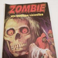 Cómics: COLECCIÓN ZOMBIE - EDICIONES PETRONIO 1973 - LOS MUERTOS VIVIENTES. Lote 191654542