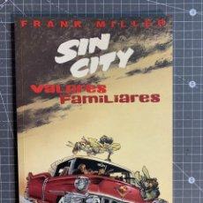 Comics : SIN CITY VALORES FAMILIARES - MORMA EDITORIAL - FRANK MILLER. Lote 191668188