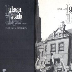 Cómics: DAVE SIM : IGLESIA Y ESTADO - DOS TOMOS (PONENT MON, 2011). Lote 191705690