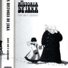 Cómics: DAVE SIM Y GERHARD : LA HISTORIA DE JAKA (PONENT MON, 2012). Lote 191706005