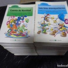 Cómics: CLÁSICOS DE LA LITERATURA DISNEY COLECCIÓN COMPLETA 40 TOMITOS BIBLIOTECA EL MUNDO. CFT. Lote 191728246