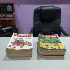 Cómics: LOTE DE 135 NÚMEROS REVISTAS TRETZEVENTS - VER LAS IMÁGENES. Lote 191750635