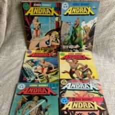Cómics: ANDRAX - COLECCIÓN COMPLETA DE 12 NÚMEROS - EDITA : EDITORIAL TOUTAIN - 1988. Lote 13315954