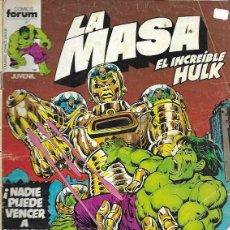 Cómics: LA MASA. FORUM 1980. Nº 2. Lote 191834830
