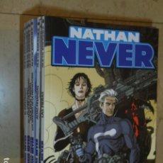 Cómics: NATHAN NEVER COMPLETA VOL. 1 + VOL. 2 + VOL. 3 (36 + 8 + 6 NUM.) ALETA OFERTA (ANTES 390,00 EU.). Lote 192002746
