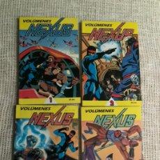 Cómics: NEXUS COLECCION COMPLETA EN 4 TOMOS - FIRST COMICS EN 1987 - MIKE BARON -STEVE RUDE. Lote 277503808