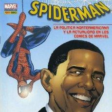Comics: SPIDERMAN. LA POLÍTICA NORTEAMERICANA Y LA ACTUALIDAD EN LOS CÓMICS MARVEL. Lote 192247623