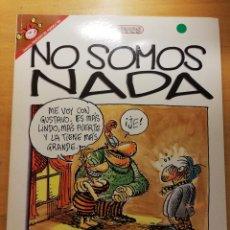 Cómics: NO SOMOS NADA (TABARÉ) COLECCIÓN PENDONES DEL HUMOR Nº 103, EL JUEVES. Lote 192461143