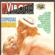 Cómics: EL VIBORA - ESPECIAL HUMOR - EXTRAORDINARIO Nº 12 - 1989 - LA CUPULA -. Lote 192583636