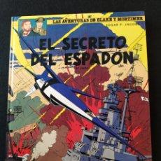 Cómics: LAS AVENTURAS DE BLAKE Y MORTIMER. EL SECRETO DEL ESPADON. 3A PARTE. 1987. Lote 192790617