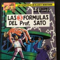 Cómics: LAS AVENTURAS DE BLAKE Y MORTIMER. LAS 3 FORMULAS DEL PROF SATO. 2A PARTE. 1990. Lote 192790967