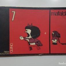 Cómics: MAFALDA Nº 7. QUINO. EDITORIAL LUMEN. BARCELONA, 1971. Lote 192892175