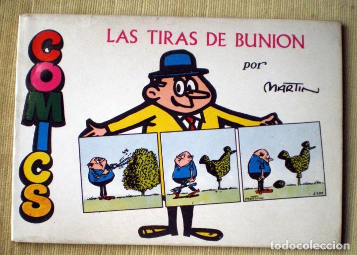 VIÑETAS-2 LIBROS TIRAS DE BUNION- STIMEY COLECCIÓN COMICS PLAN 1970 POR GEORGE MARTIN-NUEVO (Tebeos y Comics Pendientes de Clasificar)