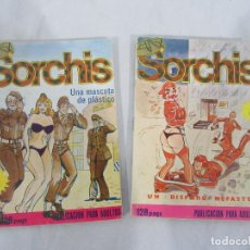 Comics : LOTE 2 CÓMICS DE SORCHIS Nº 3 Y 10 - ELVIBERIA. Lote 193578004