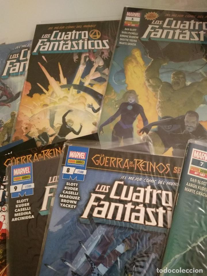 Cómics: 14 primeros comics grapa Los 4 Fantasticos serie actual panini comics - Foto 2 - 193706792