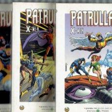 Cómics: COLECCION GRANDES HEROES DEL COMIC MARVEL COMICS PATRULLA X N,8,9 Y 10. Lote 193789695