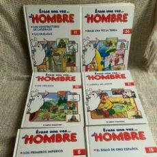 Cómics: ERASE UNA VEZ EL HOMBRE - LOTE DE 23 EJEMPLARES ( FALTAN 2 PARA SER COLECCION COMPLETA ). Lote 240866020