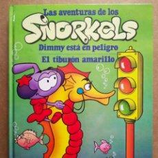 Cómics: LAS AVENTURAS DE LOS SNORKELS: DIMMY ESTÁ EN PELIGRO/EL TIBURÓN AMARILLO (CÍRCULO DE LECTORES). Lote 193825248