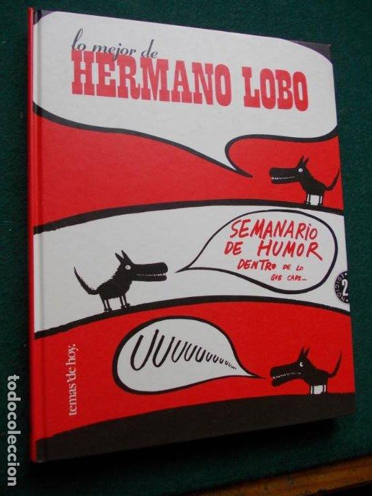LO MEJOR DE HERMANO LOBO (Tebeos y Comics Pendientes de Clasificar)