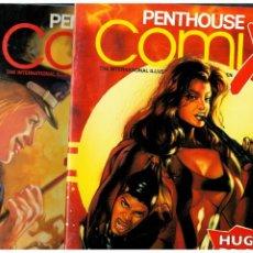 Cómics: PENTHOUSE COMIX. LOTE DE 11 NÚMEROS.- 2,3,5,6,7,13,14,18,23,24 Y 27. SOLO PARA ADULTOS.. Lote 193973207