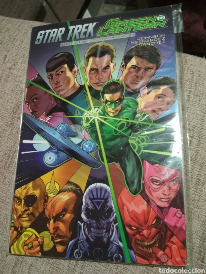STAR TREK / GREEN LANTERN, THE SPECTRUM WAR (Tebeos y Comics - Comics otras Editoriales Actuales)