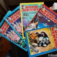 Cómics: LOTE 5 TEBEOS / CÓMIC VITO NERVIO 1-2-7-8 1980 ORIGINAL VILAN. Lote 194225021