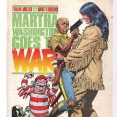 Cómics: MARTHA WASHINGTON GOES TO WAR. Nº 4. FRAN MILLER. NORMA EDITORIAL. (ST/A4). Lote 194225283