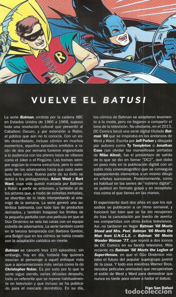 Cómics: Batman 66: El entresijo del Acertijo (Jeff Parker...) / Colección Novelas Gráficas, 76 - 01/2020 - Foto 3 - 194233712