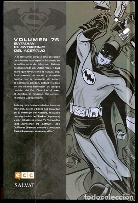 Cómics: Batman 66: El entresijo del Acertijo (Jeff Parker...) / Colección Novelas Gráficas, 76 - 01/2020 - Foto 34 - 194233712