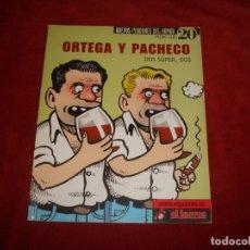 Cómics: NUEVOS PENDONES DEL HUMOR Nº 20 EL JUEVES ORTEGA Y PACHECO. Lote 194239936
