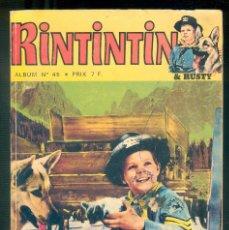 Cómics: NUMULITE * RINTINTIN & RUSTY ALBUM Nº 45. Lote 194240030