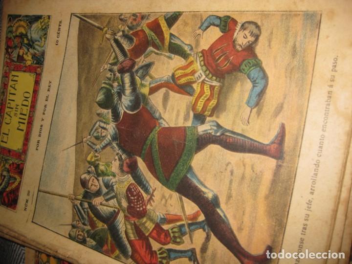 Cómics: el capitan sin miedo . del nº1 al 40 coleccion completa imprenta la iberica . algunos desgaste - Foto 2 - 194243508
