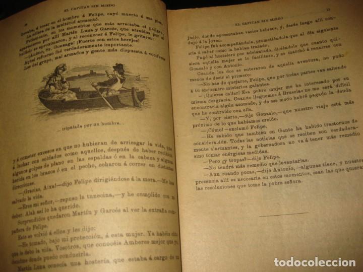 Cómics: el capitan sin miedo . del nº1 al 40 coleccion completa imprenta la iberica . algunos desgaste - Foto 3 - 194243508