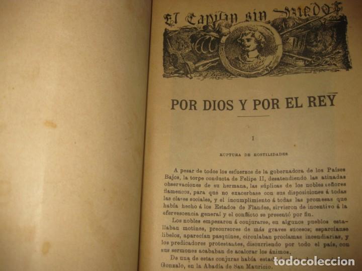 Cómics: el capitan sin miedo . del nº1 al 40 coleccion completa imprenta la iberica . algunos desgaste - Foto 4 - 194243508