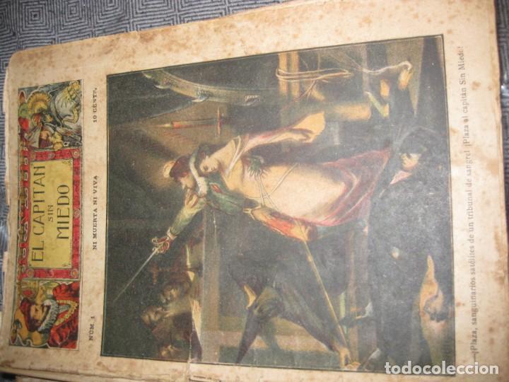 Cómics: el capitan sin miedo . del nº1 al 40 coleccion completa imprenta la iberica . algunos desgaste - Foto 6 - 194243508