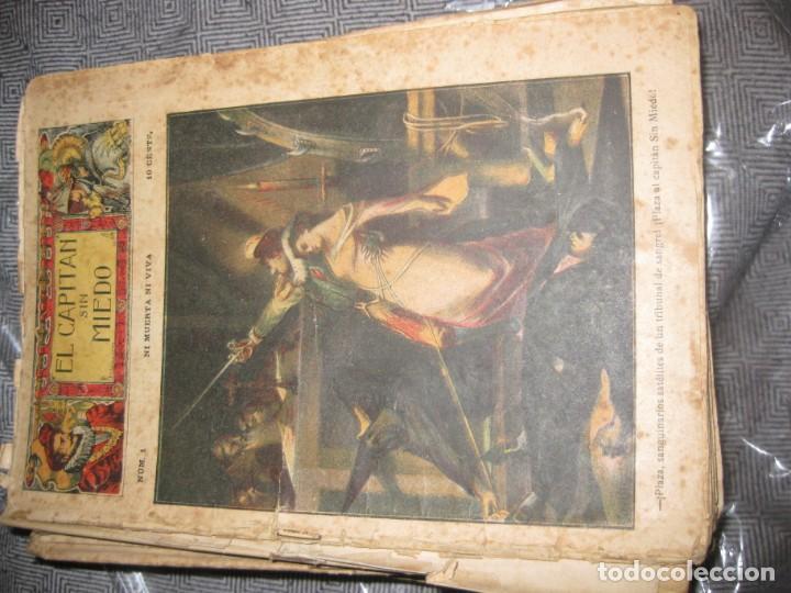 Cómics: el capitan sin miedo . del nº1 al 40 coleccion completa imprenta la iberica . algunos desgaste - Foto 7 - 194243508