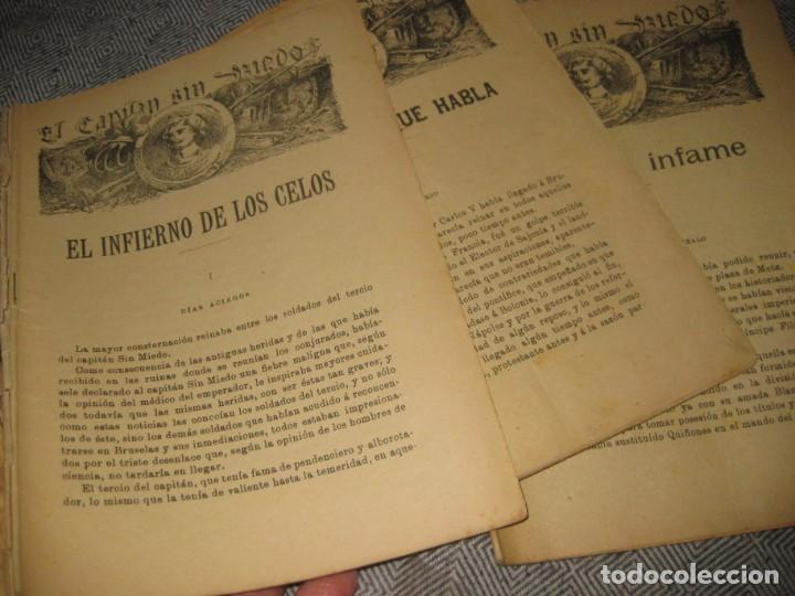 Cómics: el capitan sin miedo . del nº1 al 40 coleccion completa imprenta la iberica . algunos desgaste - Foto 8 - 194243508