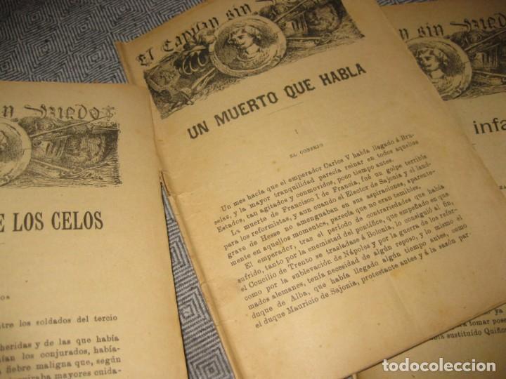 Cómics: el capitan sin miedo . del nº1 al 40 coleccion completa imprenta la iberica . algunos desgaste - Foto 9 - 194243508