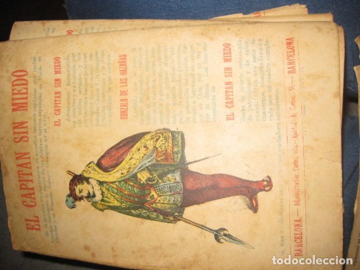 Cómics: el capitan sin miedo . del nº1 al 40 coleccion completa imprenta la iberica . algunos desgaste - Foto 11 - 194243508