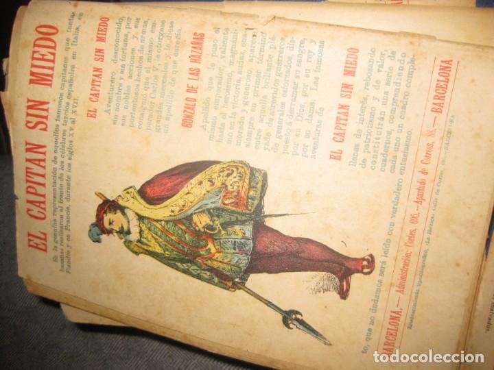 Cómics: el capitan sin miedo . del nº1 al 40 coleccion completa imprenta la iberica . algunos desgaste - Foto 12 - 194243508