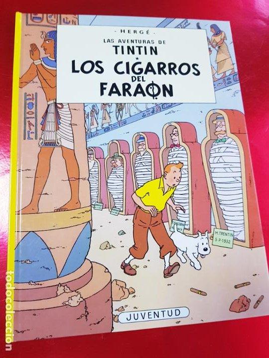 Cómics: COMIC-TINTÍN -LOS CIGARROS DEL FARAÓN-24ªEDICIÓN-2007-NUEVO-VER FOTOS - Foto 2 - 194244162