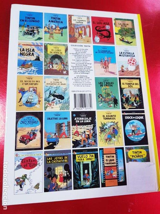 Cómics: COMIC-TINTÍN -LOS CIGARROS DEL FARAÓN-24ªEDICIÓN-2007-NUEVO-VER FOTOS - Foto 4 - 194244162