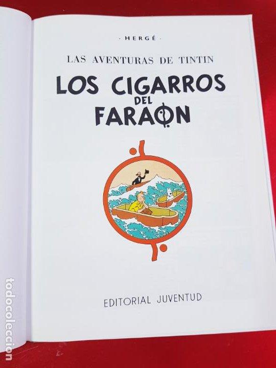 Cómics: COMIC-TINTÍN -LOS CIGARROS DEL FARAÓN-24ªEDICIÓN-2007-NUEVO-VER FOTOS - Foto 6 - 194244162