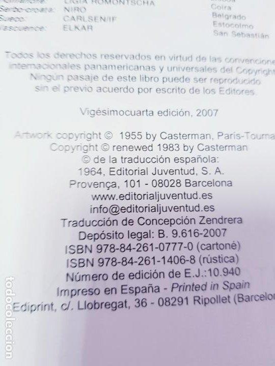 Cómics: COMIC-TINTÍN -LOS CIGARROS DEL FARAÓN-24ªEDICIÓN-2007-NUEVO-VER FOTOS - Foto 13 - 194244162