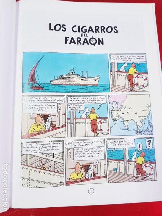 Cómics: COMIC-TINTÍN -LOS CIGARROS DEL FARAÓN-24ªEDICIÓN-2007-NUEVO-VER FOTOS - Foto 14 - 194244162