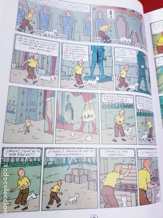 Cómics: COMIC-TINTÍN -LOS CIGARROS DEL FARAÓN-24ªEDICIÓN-2007-NUEVO-VER FOTOS - Foto 15 - 194244162