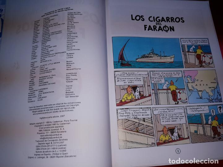 Cómics: COMIC-TINTÍN -LOS CIGARROS DEL FARAÓN-24ªEDICIÓN-2007-NUEVO-VER FOTOS - Foto 7 - 194244162