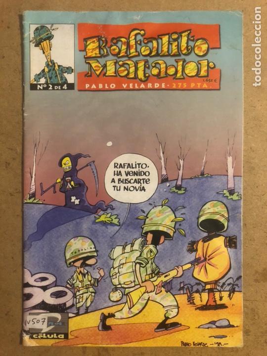RAFALITO MATADOR N° 2 DE PABLO VELARDE (DUDE COMICS 1999). (Tebeos y Comics Pendientes de Clasificar)